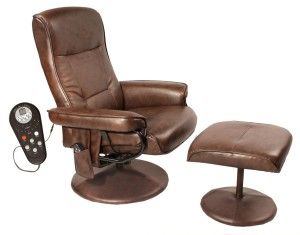 Relaxzen 60-425111 Leisure Massage Reclining Chair for Back Pain