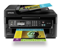 Epson WorkForce WF-2540 Wireless All-in-One Color Inkjet Printer