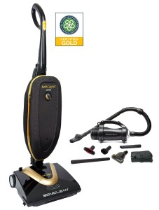 Soniclean Soft Carpet Vacuum Cleaner Combo: Deep Cleans New Age Soft Style Carpet