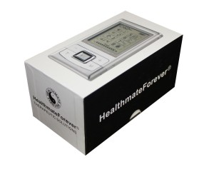 HealthmateForever Hands-Free Tens Electronic Pulse Massager Unit
